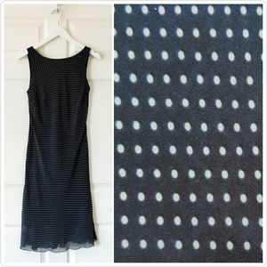 B Darlin polka dot sleeveless dress